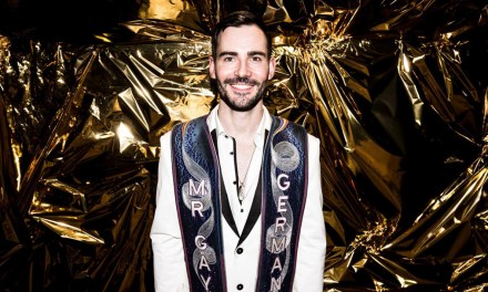 Enrique Doleschy is Mr Gay Germany 2018