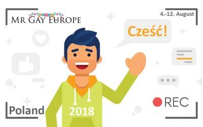 Mr Gay Europe 2018 registration is open!