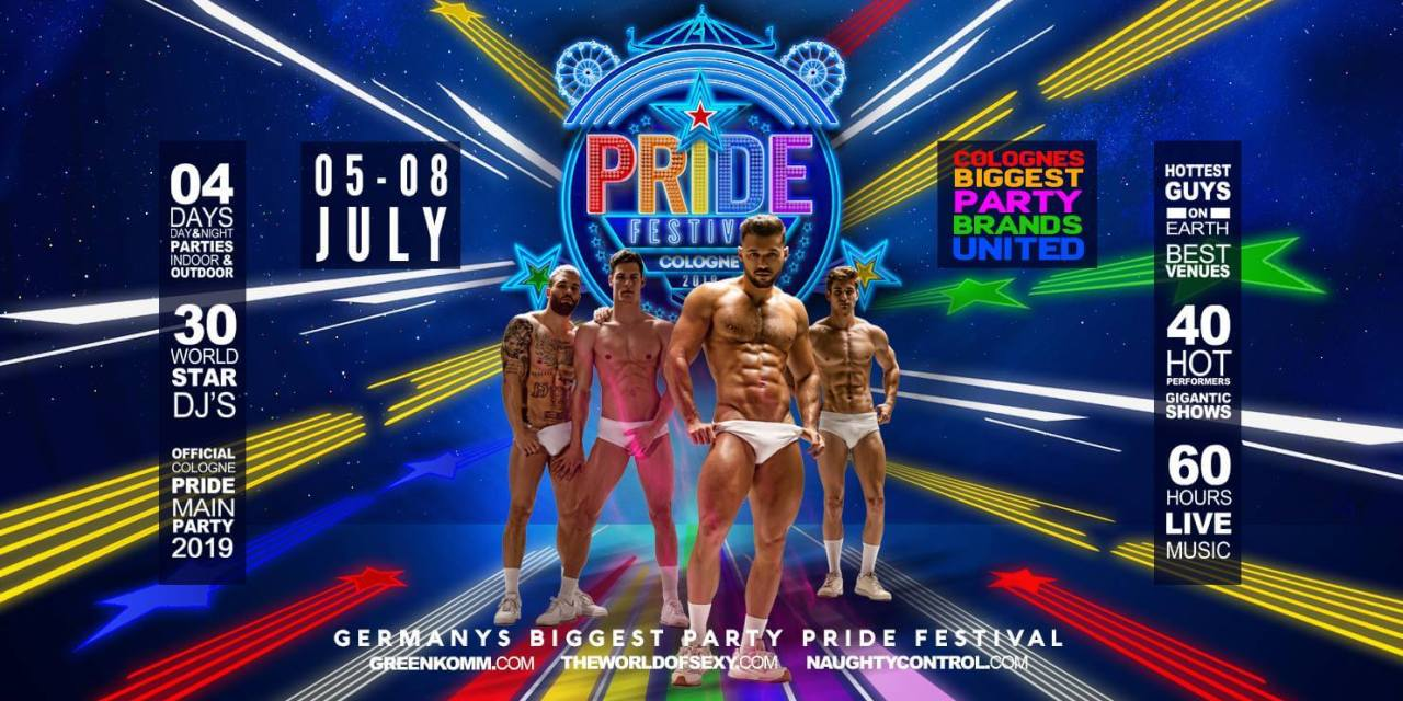MGE major party time at Cologne Pride