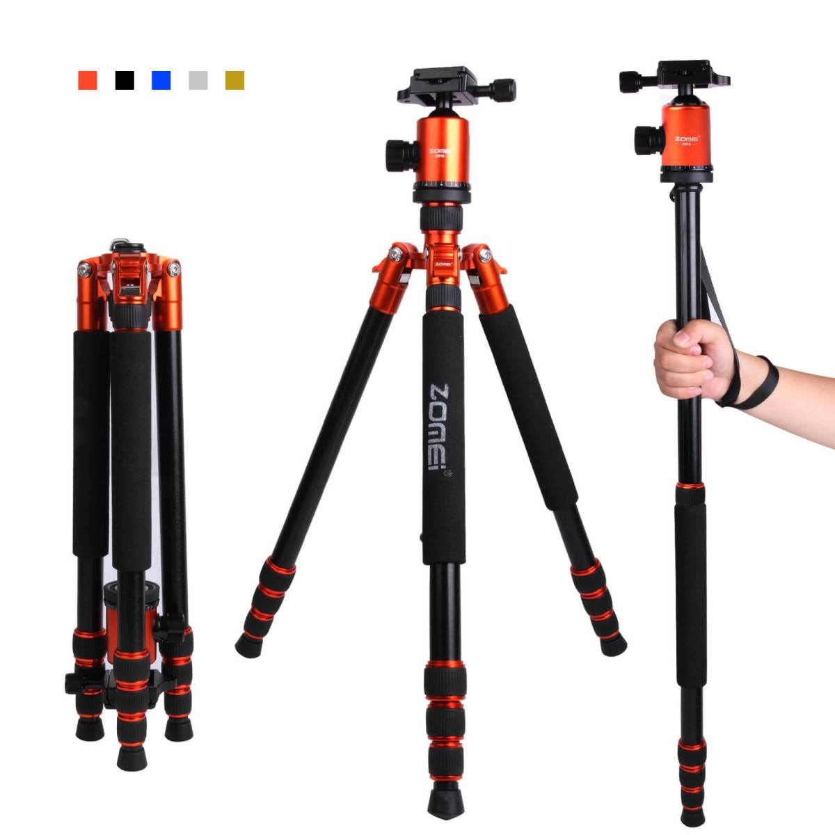 Tripod and monopod