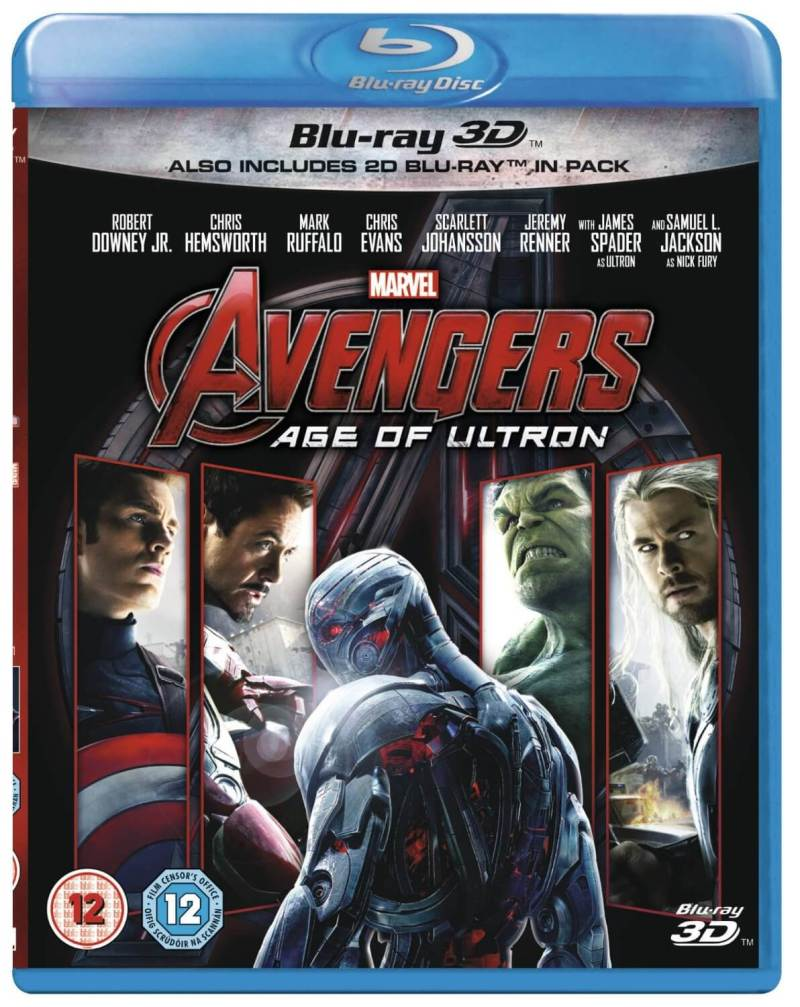 Avengers Age of Ultron [Blu-ray 3D] | The Top Six Movies In My Film Collection
