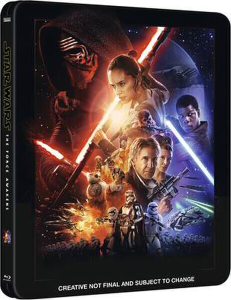 Star Wars The Force Awakens - Zavvi Exclusive Limited Edition Steelbook Blu-ray | The Top Six Movies In My Film Collection