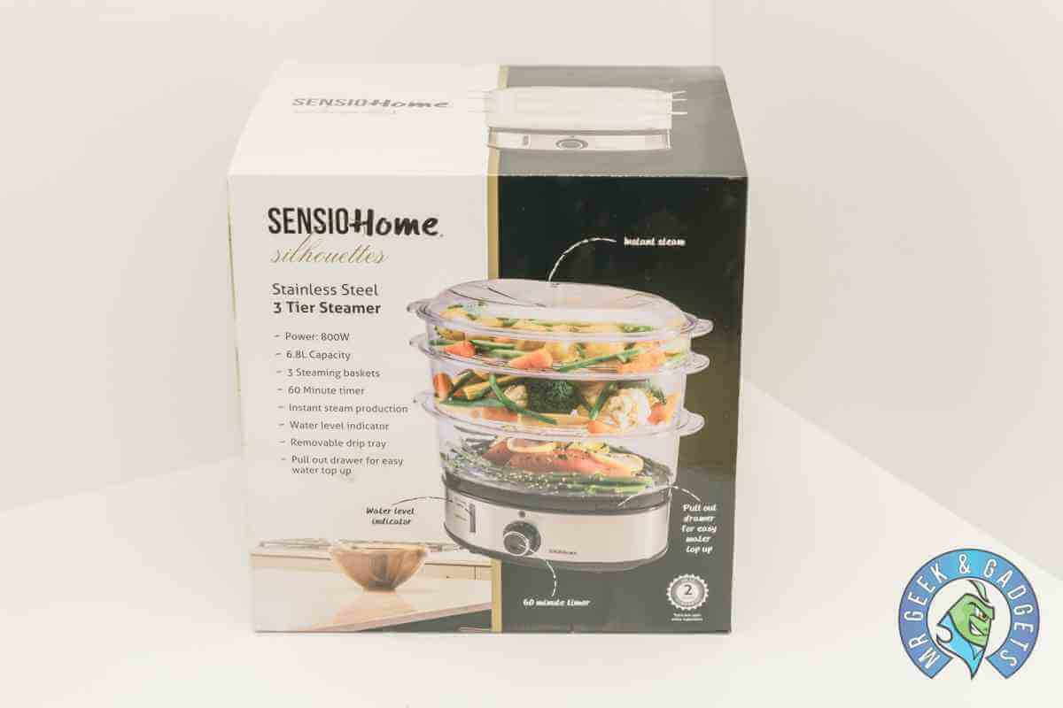 850_0984 | Sensio Home Three Tier Steamer Review