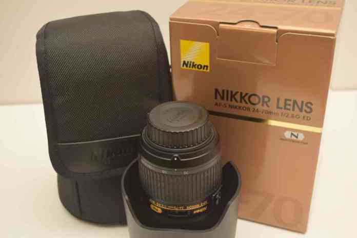 The Nikon D850 Unboxing and Review - The Lens