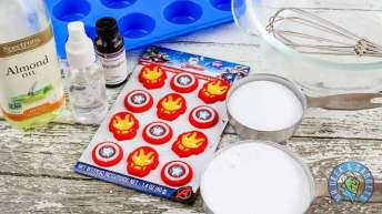 Avengers Bath Bombs Activity