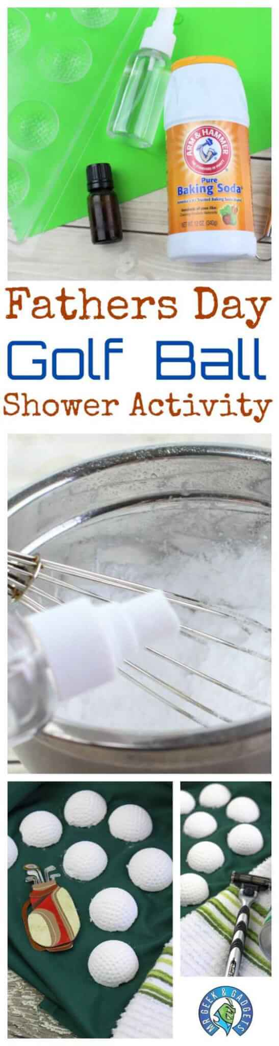 fathers-day-golf-ball-shower-activity | Fathers Day Golf Ball Shower Activity