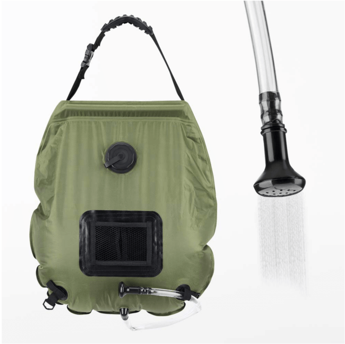 Camping Pressure Shower | Gadgets That Take the Stress out of Camping