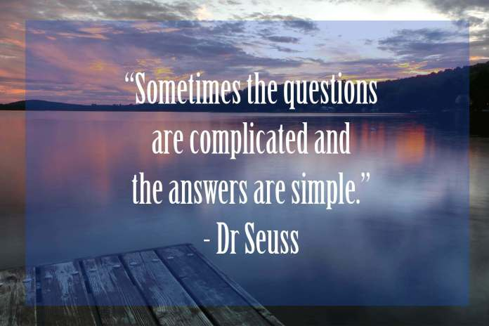 Somestimes-the-questions-are-complicated | 37 Dr Seuss Quotes Which Will Inspire You