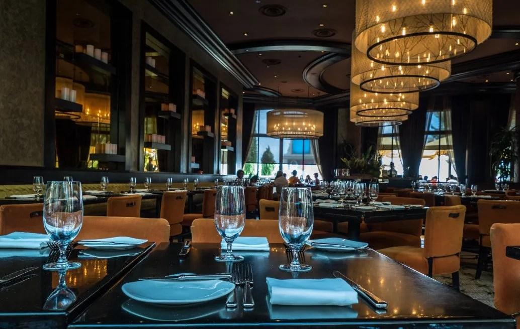 Casino dining room, Las Vegas