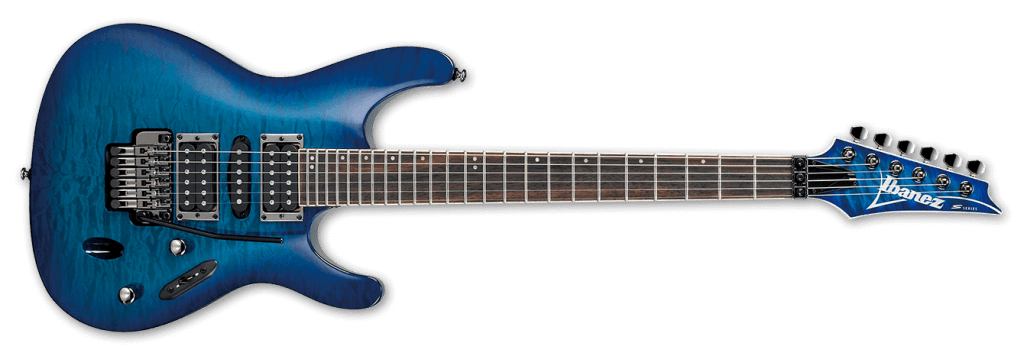 Ibanez S S670QM-SPB Electric Guitar