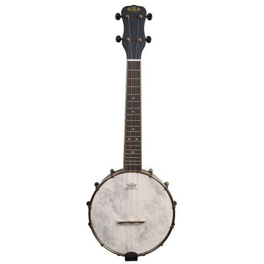 Best Beginner Banjo Under $500 - 2019 - KA-BJN-BKC Concert Banjo by Kala