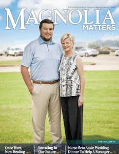 Magnolia Matters Fall/winter 2018 Magazine
