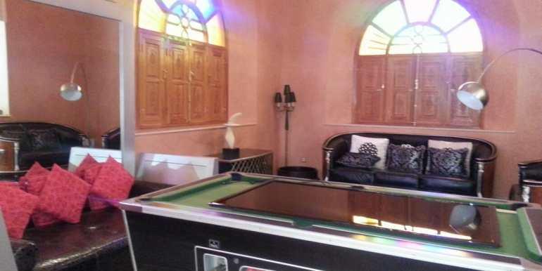 villa meublé a vendre sur la route de fes marrakech2