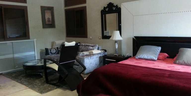 villa meublé a vendre sur la route de fes marrakech9