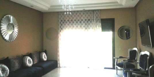 location appartement meublé longue durée à marrakech gueliz