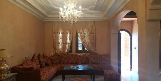 location villa meublée Av Mohammed VI marrakech