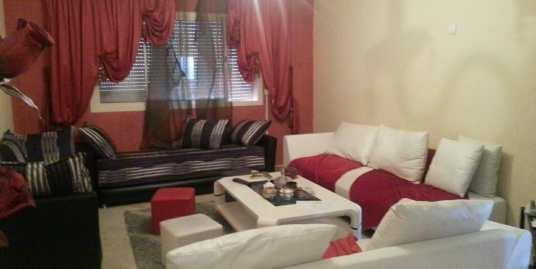 Location appartement avec piscine sur route de casa marrakech
