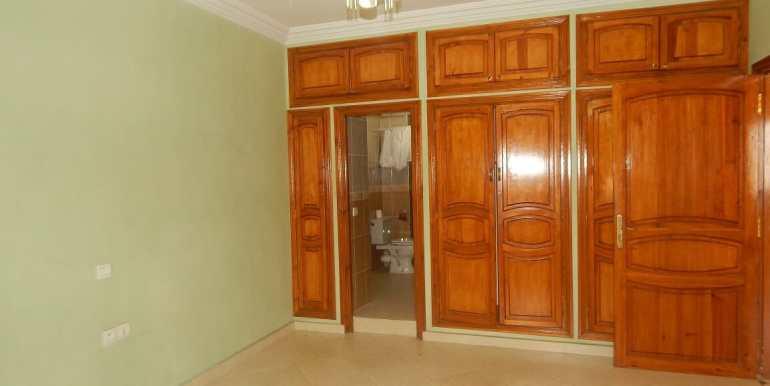 Villa non meublée à louer route de casa marrakech11