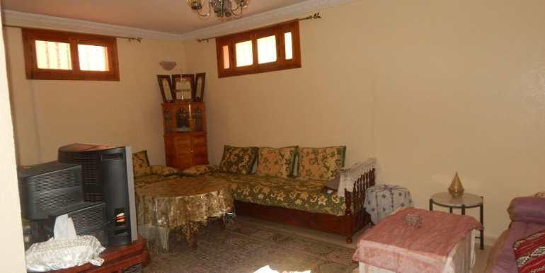 Villa non meublée à louer route de casa marrakech6