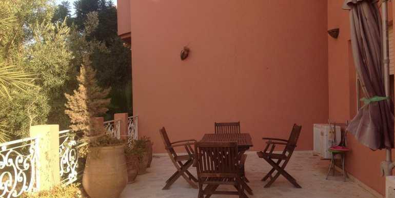 appartement à louer sur route de casa marrakech4