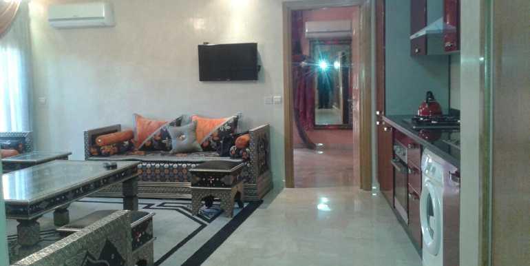 location appartement pour longue durée gueliz marrakech4