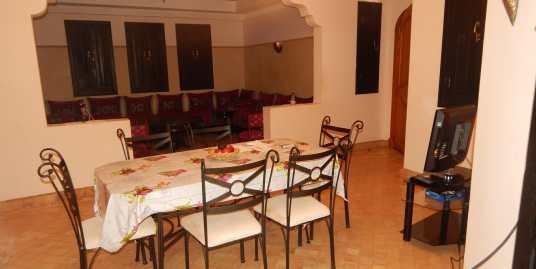 location duplex meublé palmeraie marrakech pour longue durée