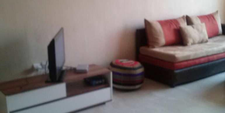 location meublé d'un appartement à gueliz marrakech 3