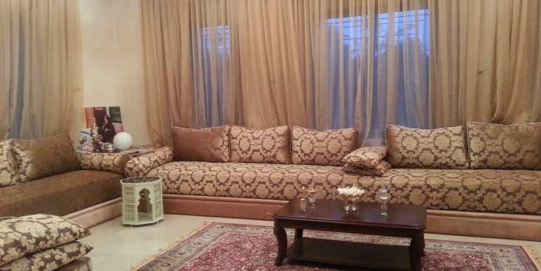 location villa de luxe pour longue durée au palmeraie marrakech1