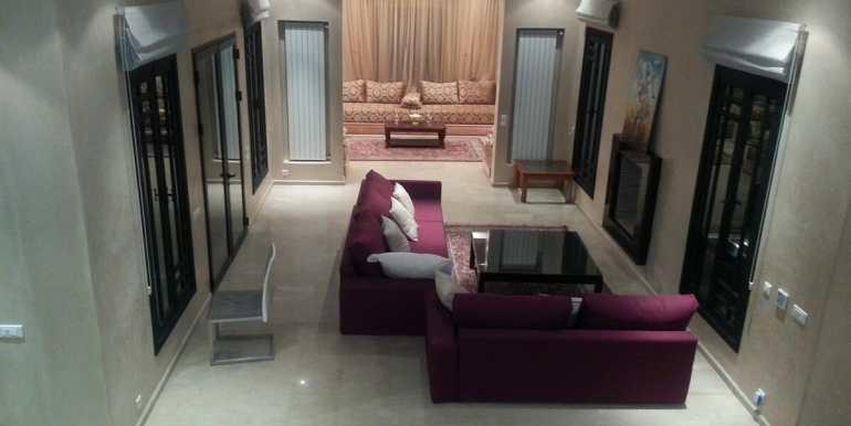 location villa de luxe pour longue durée au palmeraie marrakech5