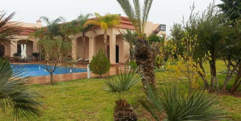 location villa de luxe sur la route de fes marrakech