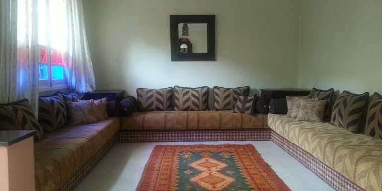 location villa meublée à targa marrakech avec piscine privée7