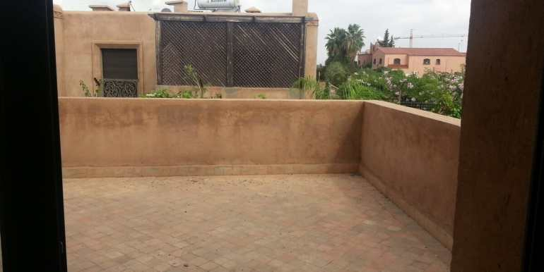location villa non meublée à marrakech targa