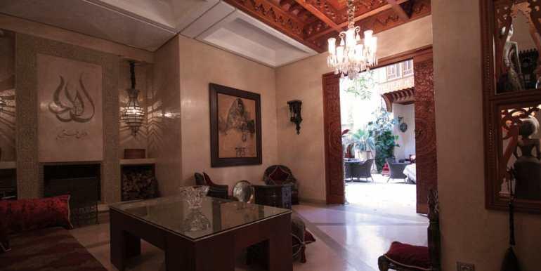 Riad de Luxe à Vendre mellah marrakech-4