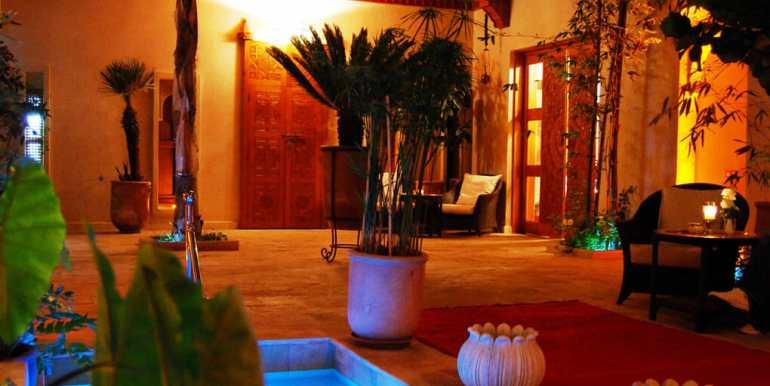 Vente Riad de luxe marrakech