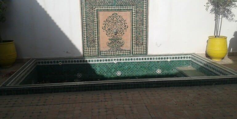 Riad à vendre à palmeraie marrakech-8