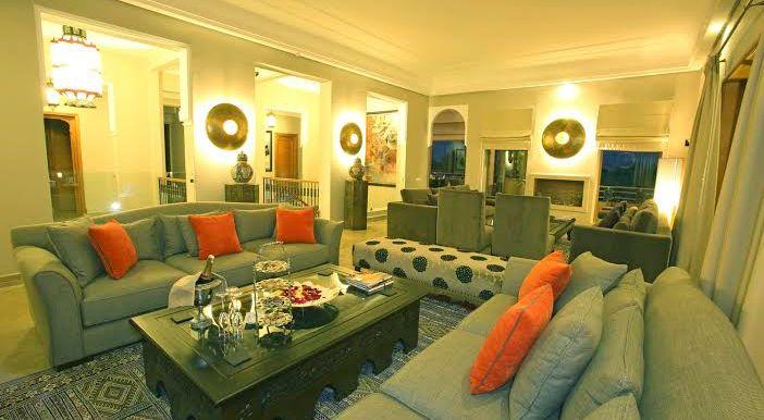 villa pour ceremonie à marrakech