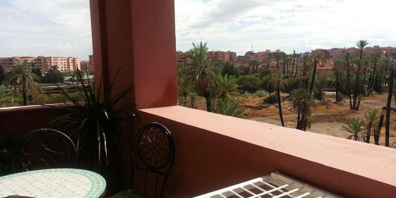 Appartement à loué pour longue durée route de casa marrakech-8