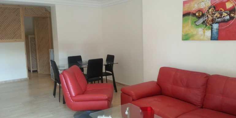 Appartement à loué pour longue durée route de casa marrakech-9