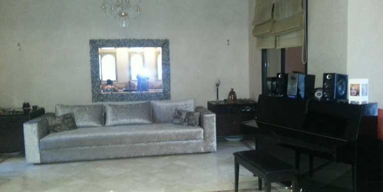 Location Villa meublée pour longue durée sur la route de fes marrakech-1