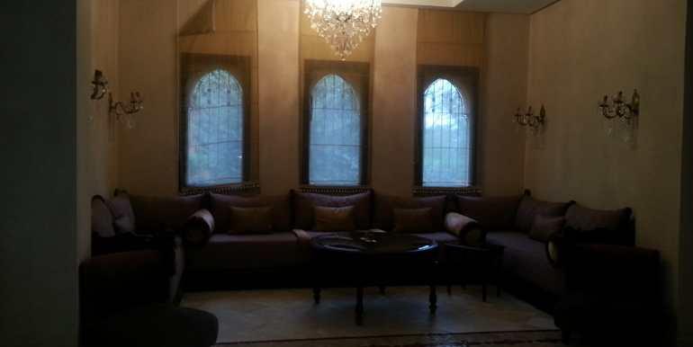 Location Villa meublée pour longue durée sur la route de fes marrakech-2