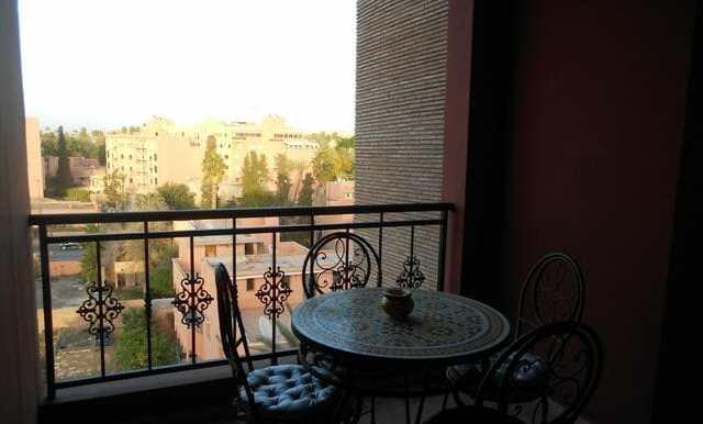 Location appartement meublé pas cher à marrakech gueliz-4