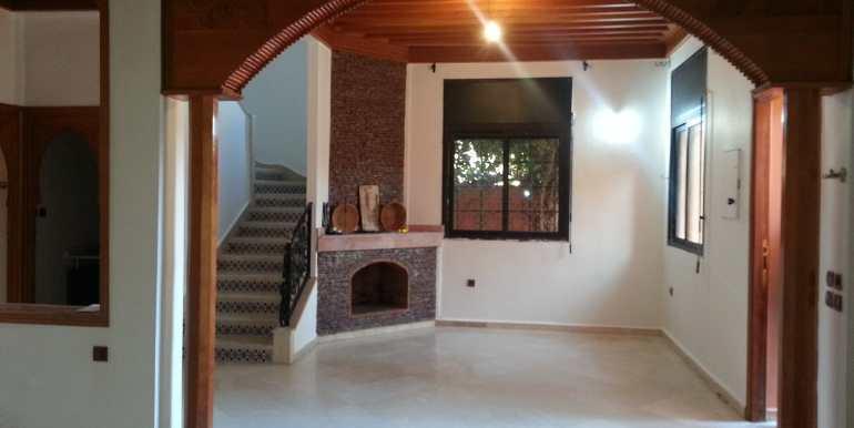 Villa à louer pour longue durée sur la route de casa Marrakech-1