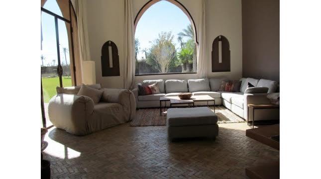 Villa de luxe à vendre au palmeraie marrakech-2