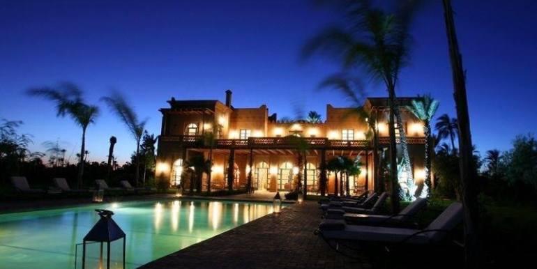 Villa de prestige à vendre au palmeraie marrakech10