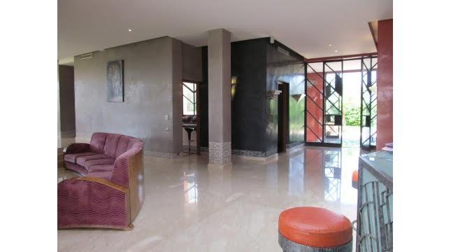 villa à vendre sur domaine amelkis marrakech proche de Golf-13