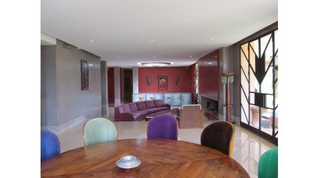 villa à vendre sur domaine amelkis marrakech proche de Golf-4