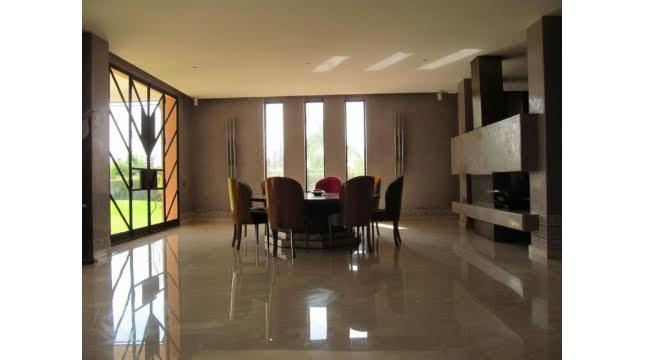villa à vendre sur domaine amelkis marrakech proche de Golf-6