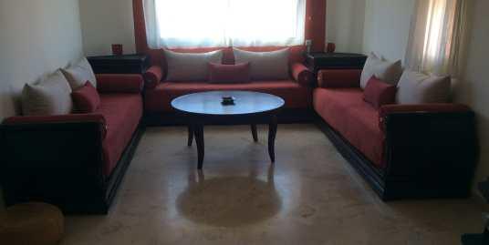 Appartement à louer meublé pour longue durée route de casa