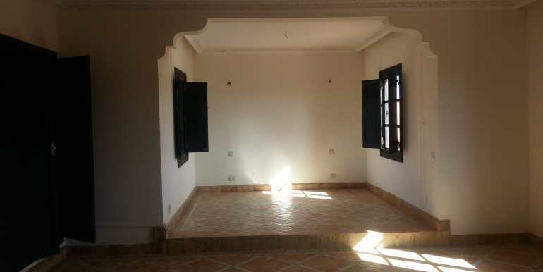 Location longue durée villa vide palmeraie  (1)