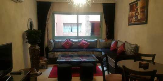 joli appartement meublé à l'hivernage pour longue durée
